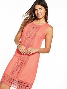 v-by-very-lace-linen-shift-dress