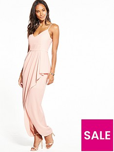 v-by-very-strappy-frill-front-maxi-dress