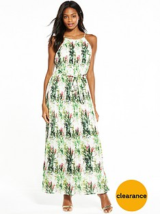 v-by-very-pleated-print-maxi-dress