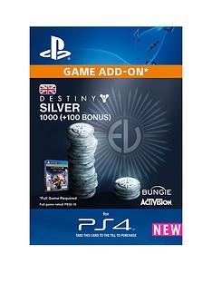 playstation-destiny-silver-1000-100-bonus