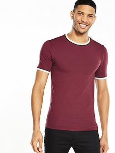 river-island-sporty-tipped-muscle-tshirt
