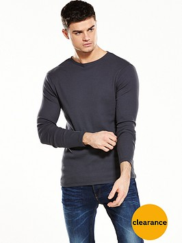 river-island-long-sleeve-rib-tshirt