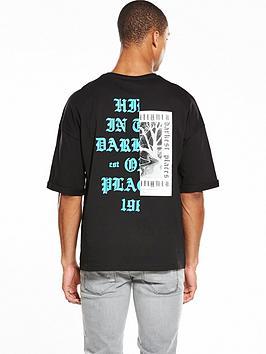 river-island-oversized-back-print-tshirt