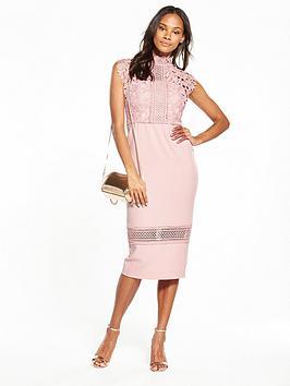 v-by-very-high-neck-lace-bodycon-dress-blush