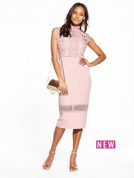 v-by-very-high-neck-lace-bodycon-dress-blush