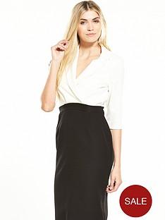 alter-colour-block-dress-blackwhite