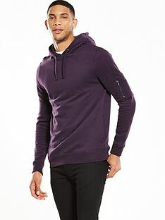 river-island-zip-pocket-hooded-top