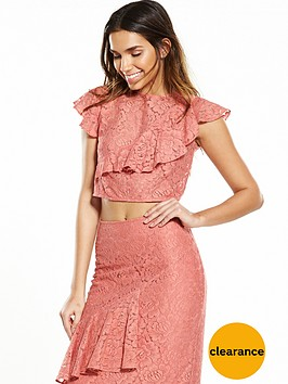 hope-ivy-lace-frill-top-coral