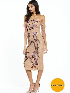 hope-ivy-off-the-shoulder-embroidered-dress-nude
