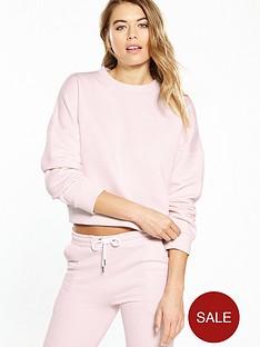 nicce-crop-sweat-pink