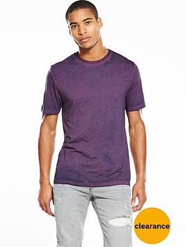 river-island-burnout-slim-fit-tshirt