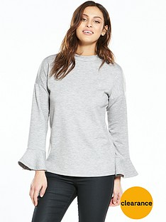 v-by-very-scuba-frill-sleeve-sweat-top-blacknbsp