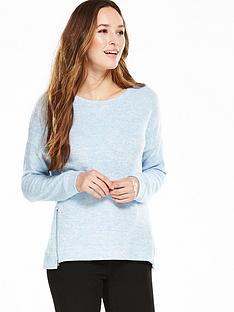 v-by-very-zip-hem-soft-touch-sweatshirt