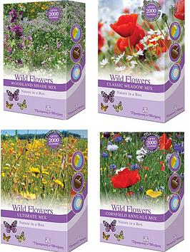 Photo of Thompson & morgan wild flowers scatter seed collection 4