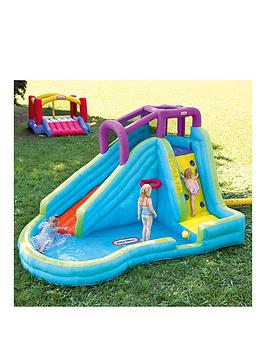 little-tikes-slam-lsquon-curve-inflatable-water-slide