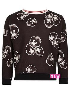 river-island-girls-black-pansy-print-sweatshirt