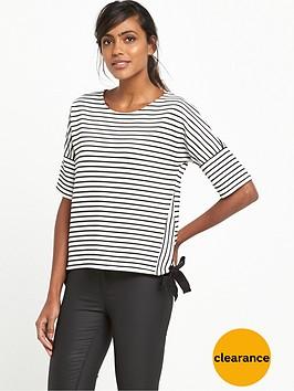 river-island-tie-side-t-shirt-white-stripe
