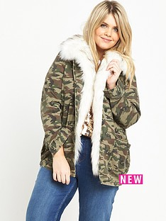ri-plus-faux-fur-collar-camo-jacket