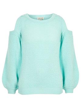 river-island-girls-mint-green-knit-cold-s