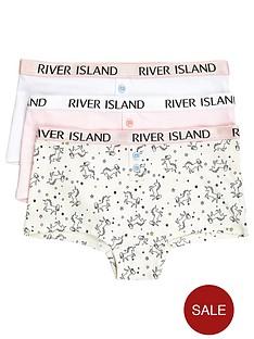river-island-girls-unicorn-print-hipster-multipack