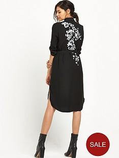 river-island-river-island-black-embellished-shirt-dress