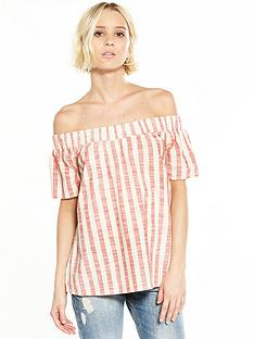 vero-moda-laura-off-the-shoulder-top-hibiscus