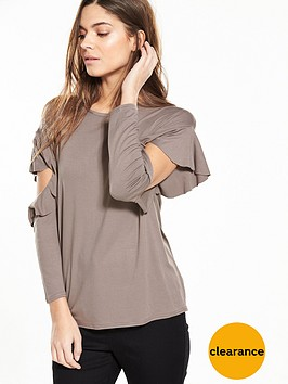 v-by-very-ruffle-sleeve-top
