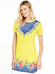 v-by-very-placementnbspprint-tunic