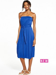 v-by-very-strapless-belted-midi-dress