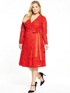 lost-ink-curve-curve-premium-wrap-lace-dress-red