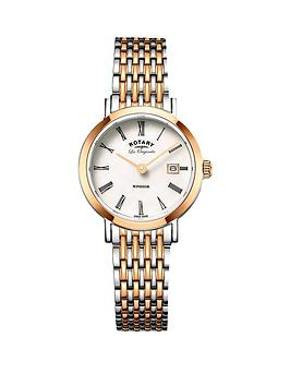 rotary-rotary-windsor-swiss-movement-white-dial-two-tone-bracelet-ladies-watch