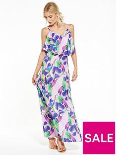 v-by-very-leaf-print-beach-maxi-dress