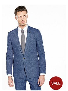 river-island-linen-slim-fit-suit-jacket