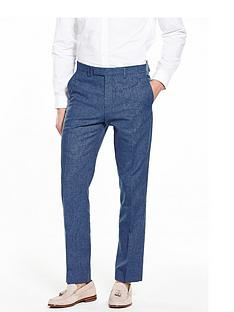 river-island-linen-slim-fit-suit-trousers