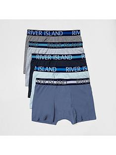 river-island-5pk-stripe-wband-trunks