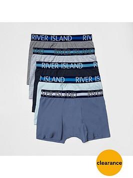 river-island-5pk-stripe-wband-trunks