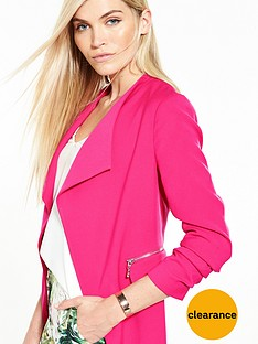 v-by-very-drape-zip-detail-jacket