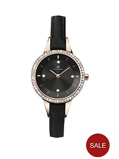 accurist-accurist-black-dial-stone-bezel-leather-strap-ladies-watch