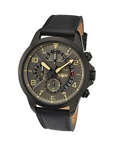 accurist-accurist-multi-dial-black-leather-strap-mens-watch