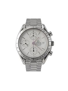 omega-omega-preowned-speedmaster-date-white-dial-ref-35112-mens-watch