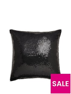 arthouse-glitz-black-cushion