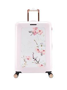 ted-baker-oriental-blossom-4-wheel-medium-case