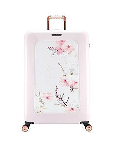 ted-baker-oriental-blossom-4-wheel-large-case