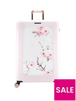 ted-baker-oriental-blossom-4-wheel-large-case