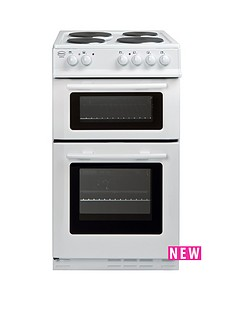 swan-sx2011w-50cm-wide-freestanding-twin-cavity-electric-cooker--nbspnext-day-delivery-white