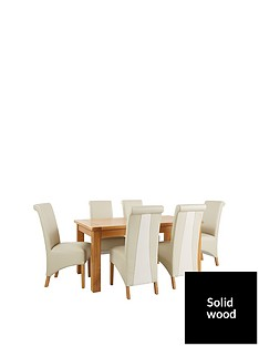 oakland-170cm-solid-wood-dining-table-6-sienna-chairs