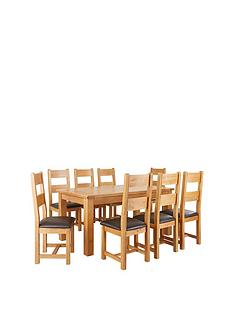 oakland-170-cm-100-solid-wood-dining-table-8-oakland-chairs