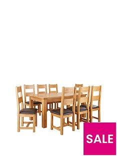 oakland-170cm-solid-wood-dining-table-8-oakland-chairs