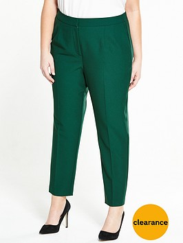 v-by-very-curve-crepe-tapered-leg-trouser-green