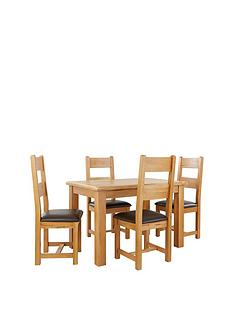 oakland-120cm-solid-wood-dining-table-4-oakland-chairs